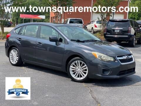 2012 Subaru Impreza for sale at Town Square Motors in Lawrenceville GA