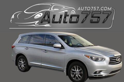 2015 Infiniti QX60 for sale at Auto 757 in Norfolk VA