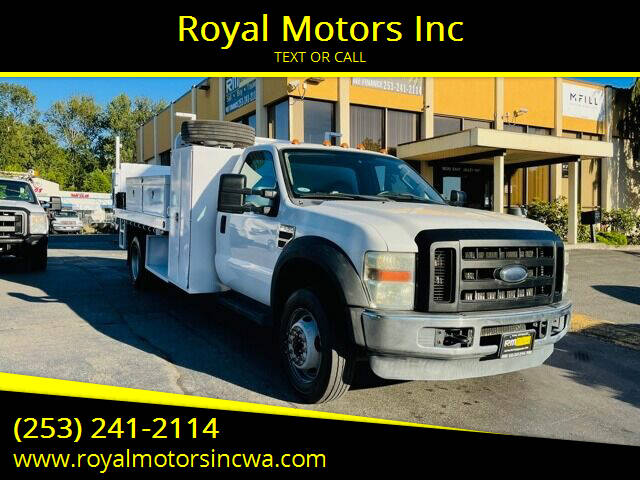 2009 Ford F-550 Super Duty for sale in Kent, WA