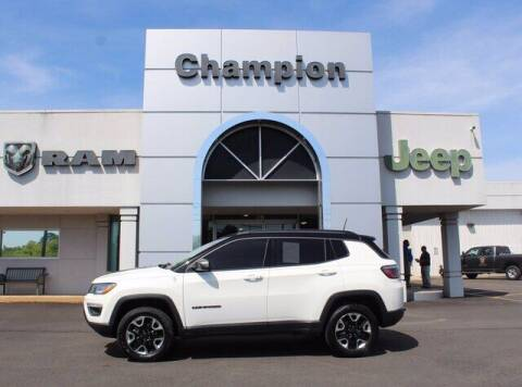2018 Jeep Compass for sale at Champion Chevrolet in Athens AL