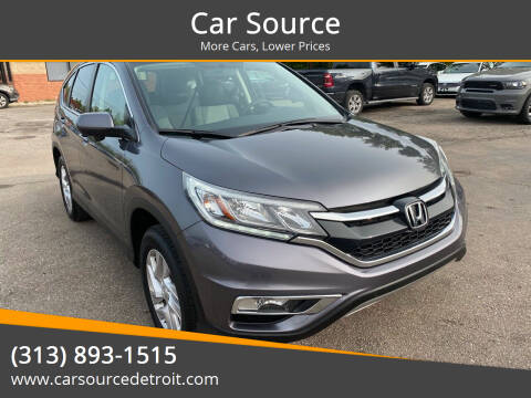 2016 Honda CR-V for sale at Car Source in Detroit MI