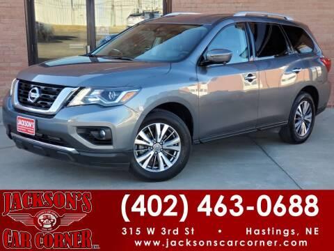 2020 Nissan Pathfinder for sale at Jacksons Car Corner Inc in Hastings NE