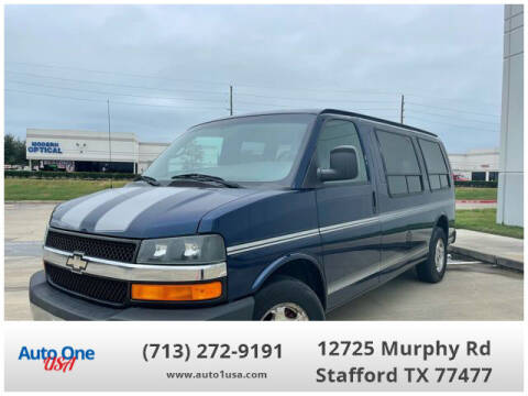 2004 Chevrolet Express Cargo for sale at Auto One USA in Stafford TX