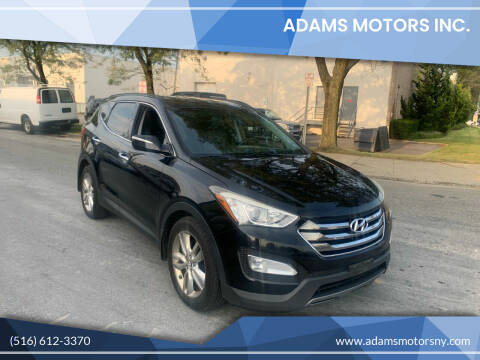 2013 Hyundai Santa Fe Sport for sale at Adams Motors INC. in Inwood NY