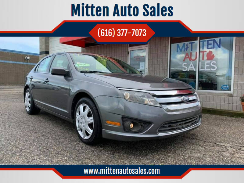 2010 Ford Fusion for sale at Mitten Auto Sales in Holland MI