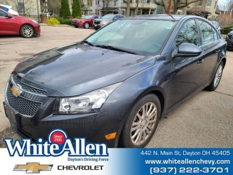 2013 Chevrolet Cruze for sale at WHITE-ALLEN CHEVROLET in Dayton OH