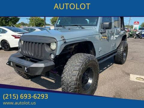 2014 Jeep Wrangler Unlimited for sale at AUTOLOT in Bristol PA