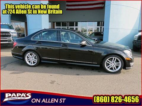 2012 Mercedes-Benz C-Class for sale at Papas Chrysler Dodge Jeep Ram in New Britain CT