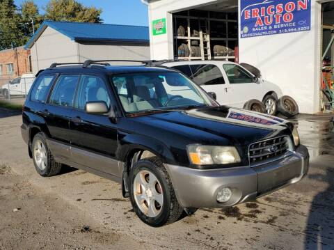 2003 Subaru Forester for sale at Ericson Auto in Ankeny IA