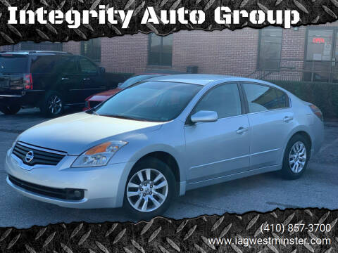 2007 Nissan Altima for sale at Integrity Auto Group in Westminister MD