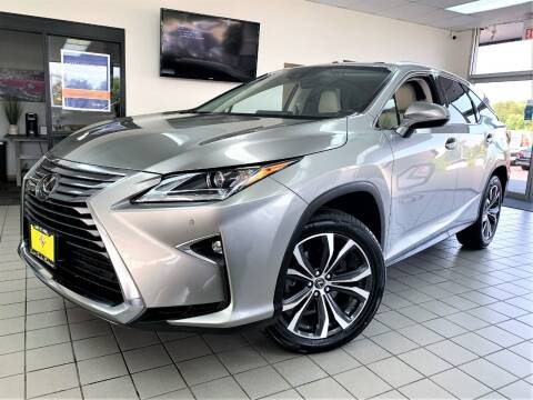 2018 Lexus RX 350L for sale at SAINT CHARLES MOTORCARS in Saint Charles IL