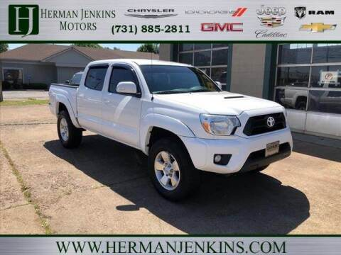 2015 Toyota Tacoma for sale at Herman Jenkins Used Cars in Union City TN