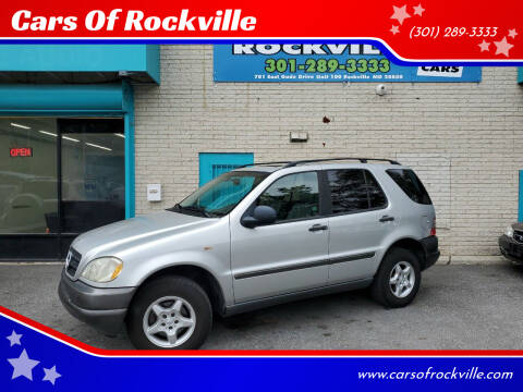1998 Mercedes-Benz M-Class for sale at Cars Of Rockville in Rockville MD