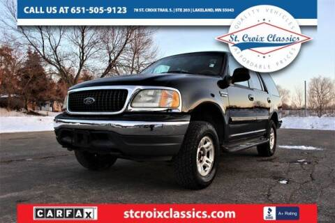 2002 Ford Expedition for sale at St. Croix Classics in Lakeland MN