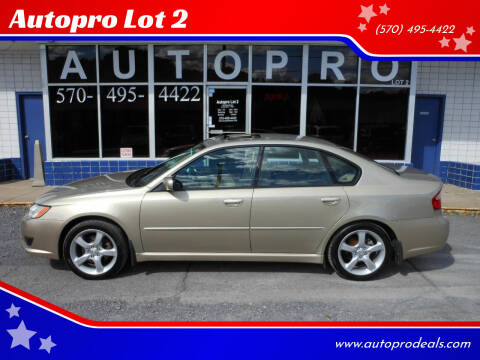 2008 Subaru Legacy for sale at Autopro Lot 2 in Sunbury PA