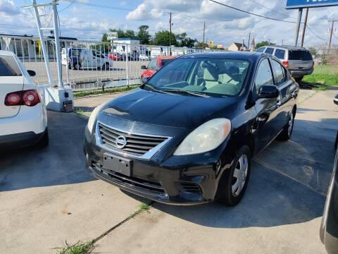 2014 Nissan Versa for sale at Dubik Motor Company in San Antonio TX
