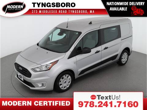 2019 Ford Transit Connect Cargo for sale at Modern Auto Sales in Tyngsboro MA