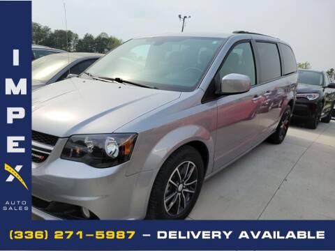 2018 Dodge Grand Caravan for sale at Impex Auto Sales in Greensboro NC