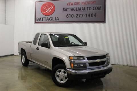 2005 Chevrolet Colorado for sale at Battaglia Auto Sales in Plymouth Meeting PA
