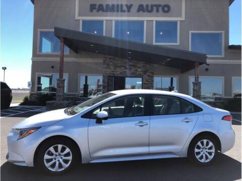 2020 Toyota Corolla for sale at Moses Lake Family Auto Center in Moses Lake WA
