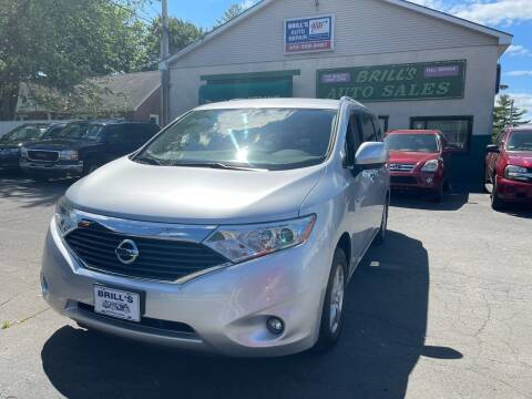 2017 Nissan Quest for sale at Brill's Auto Sales in Westfield MA