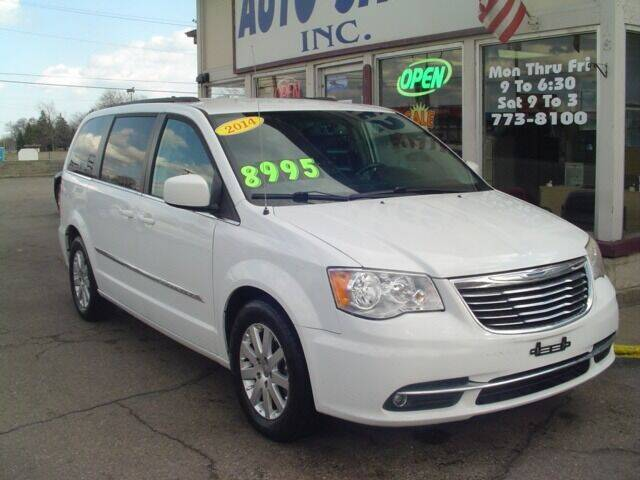 2014 Chrysler Town and Country for sale at G & L Auto Sales Inc in Roseville MI