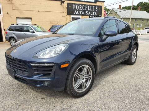 2018 Porsche Macan for sale at Porcelli Auto Sales in West Warwick RI
