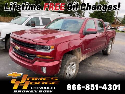 2018 Chevrolet Silverado 1500 for sale at James Hodge Chevrolet of Broken Bow in Broken Bow OK