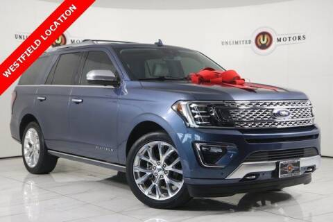2018 Ford Expedition for sale at INDY'S UNLIMITED MOTORS - UNLIMITED MOTORS in Westfield IN