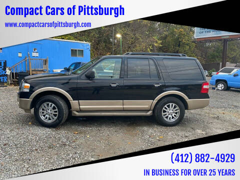 2012 Ford Expedition for sale at Compact Cars of Pittsburgh in Pittsburgh PA