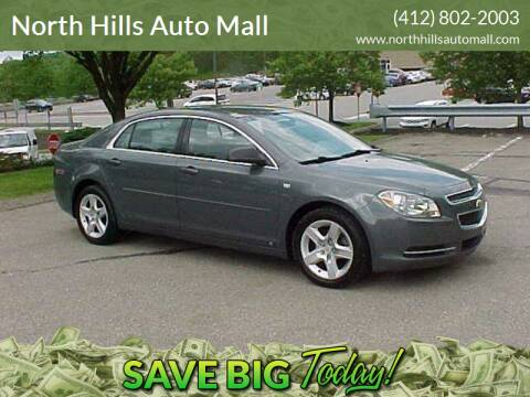 2008 Chevrolet Malibu for sale at North Hills Auto Mall in Pittsburgh PA
