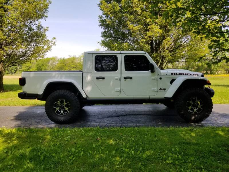 2020 Jeep Gladiator for sale at M & M Auto Sales in Hillsboro OH