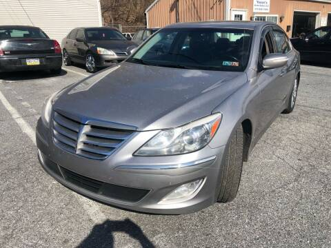2012 Hyundai Genesis for sale at YASSE'S AUTO SALES in Steelton PA