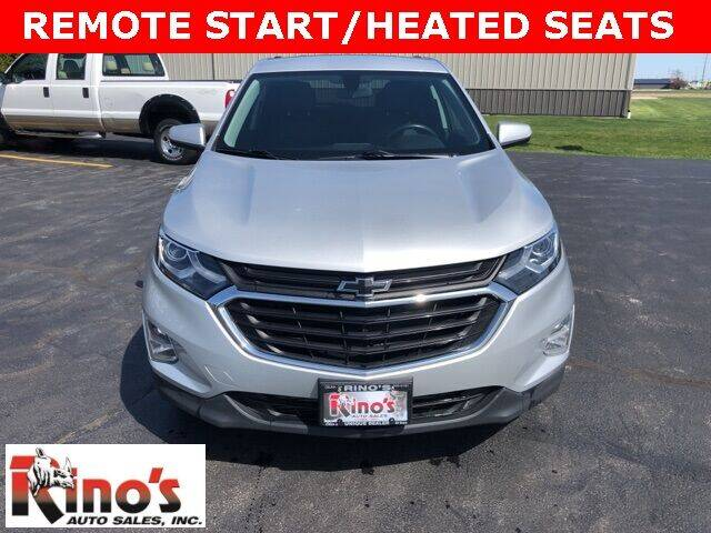 2018 Chevrolet Equinox for sale at Rino's Auto Sales in Celina OH