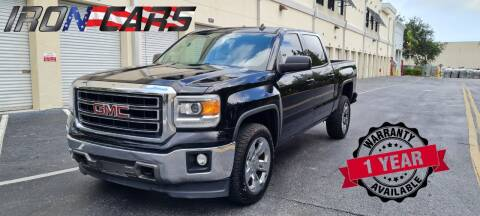 2014 GMC Sierra 1500 for sale at IRON CARS in Hollywood FL