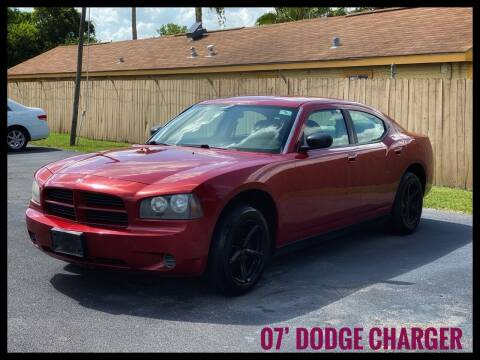 2007 Dodge Charger for sale at ASTRO MOTORS in Houston TX