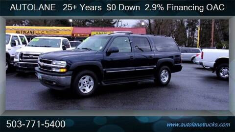 2005 Chevrolet Suburban for sale at Auto Lane in Portland OR