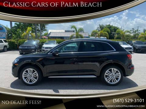 2018 Audi Q5 for sale at Classic Cars of Palm Beach in Jupiter FL