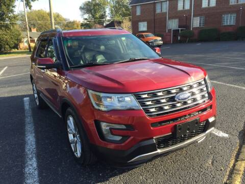 2017 Ford Explorer for sale at DEALS ON WHEELS in Moulton AL