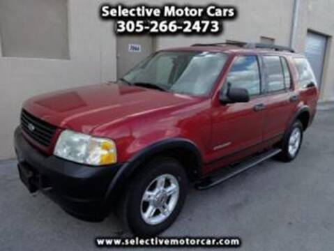 2005 Ford Explorer for sale at Selective Motor Cars in Miami FL