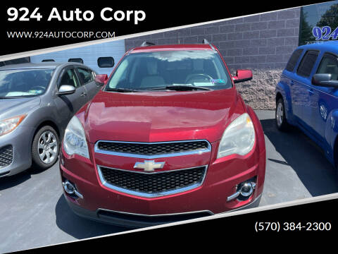 2010 Chevrolet Equinox for sale at 924 Auto Corp in Sheppton PA