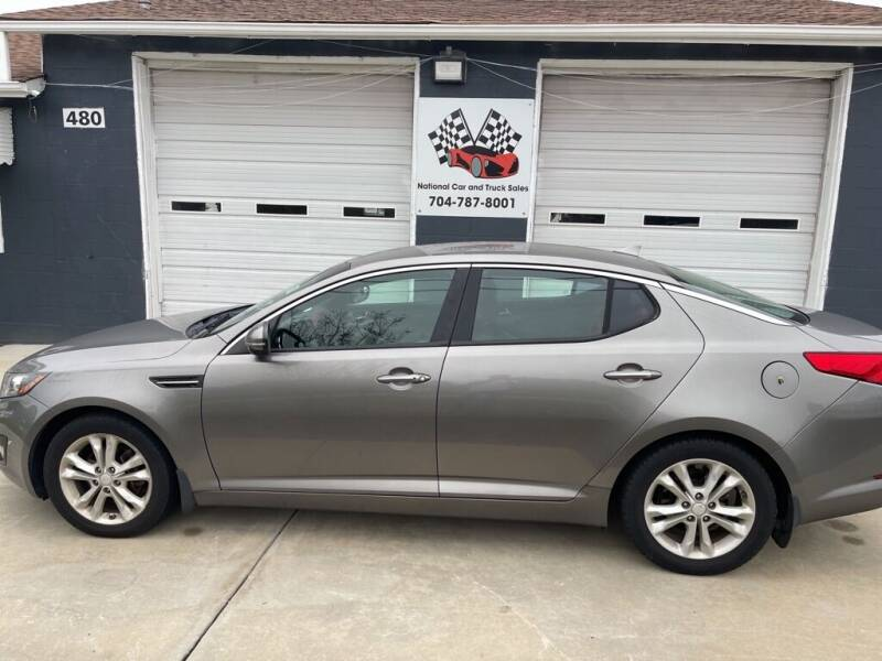 2012 Kia Optima for sale at NATIONAL CAR AND TRUCK SALES LLC - National Car and Truck Sales in Concord NC