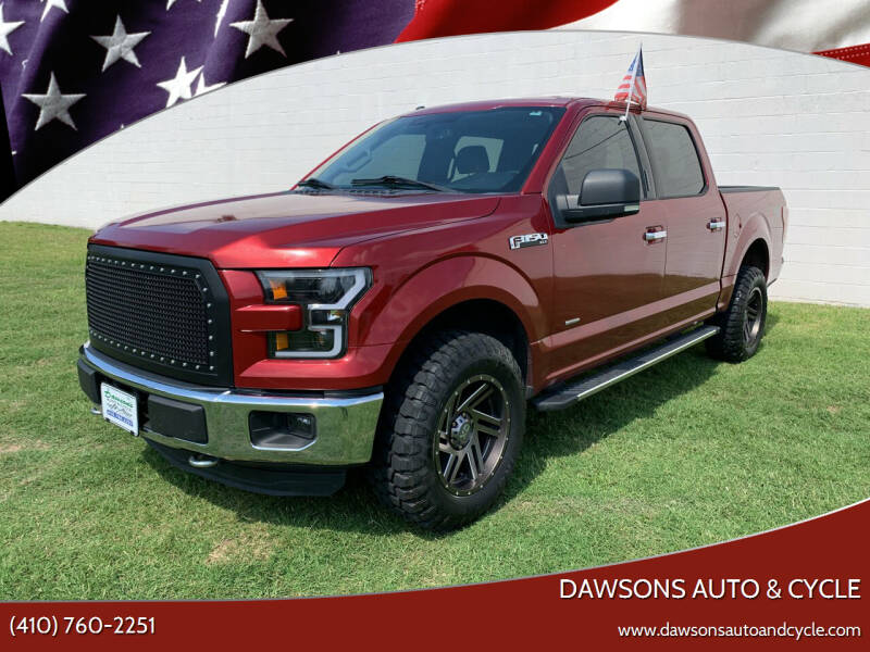 2015 Ford F-150 for sale at Dawsons Auto & Cycle in Glen Burnie MD