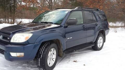 2003 Toyota 4Runner for sale at Expressway Auto Auction in Howard City MI