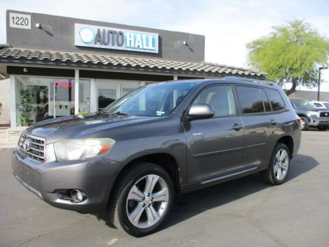 2008 Toyota Highlander for sale at Auto Hall in Chandler AZ