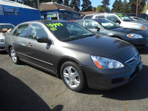 2006 Honda Accord for sale at Lino's Autos Inc in Vancouver WA