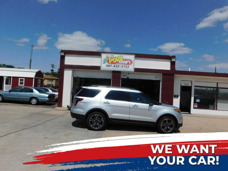 2013 Ford Explorer for sale at Pork Chops Truck and Auto in Cheyenne WY