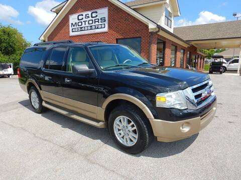 2014 Ford Expedition EL for sale at C & C MOTORS in Chattanooga TN