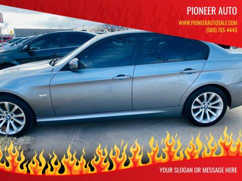 2011 BMW 3 Series for sale at Pioneer Auto in Ponca City OK
