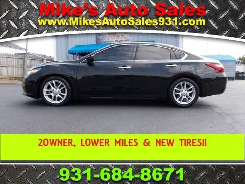 2017 Nissan Altima for sale at Mike's Auto Sales in Shelbyville TN